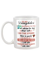 XMAS GIFT TO DAUGHTER FROM MOM  Mug back