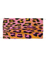 ALL ABOUT LEOPARDS  Cloth face mask front