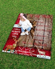"""TO MY MOM CUSTOM NAME - REINDEER Quilt 40""""x50"""" - Baby aos-quilt-40x50-lifestyle-front-09"""