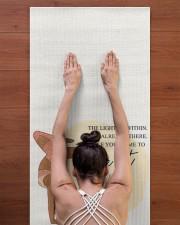 LIMITED EDITION 15 Yoga Mat 24x70 (vertical) aos-yoga-mat-lifestyle-23