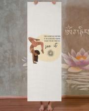 LIMITED EDITION 15 Yoga Mat 24x70 (vertical) aos-yoga-mat-lifestyle-29