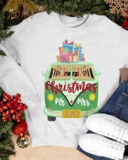 OUR FIRST CHRISTMAS 2020  Crewneck Sweatshirt apparel-crewneck-sweatshirt-lifestyle-front-24