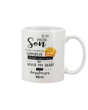 TO MY AMAZING SON FROM MOM Mug front