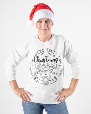 OUR FIRST CHRISTMAS 2020  Crewneck Sweatshirt apparel-crewneck-sweatshirt-lifestyle-front-26