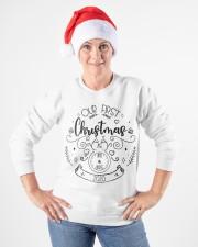 OUR FIRST CHRISTMAS 2020  Crewneck Sweatshirt apparel-crewneck-sweatshirt-lifestyle-front-26