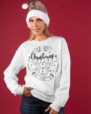 OUR FIRST CHRISTMAS 2020  Crewneck Sweatshirt apparel-crewneck-sweatshirt-lifestyle-front-27