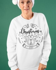 OUR FIRST CHRISTMAS 2020  Crewneck Sweatshirt apparel-crewneck-sweatshirt-lifestyle-front-42