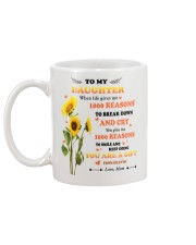 TO MY DAUGHTER FROM MOM 2 Mug back