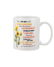 TO MY DAUGHTER FROM MOM 2 Mug front