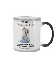 TO MY DAUGHTER FROM MOM 5 Color Changing Mug thumbnail
