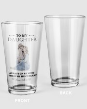 TO MY DAUGHTER FROM MOM 5 16oz Pint Glass thumbnail