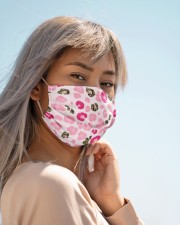 ALL ABOUT LEOPARDS  Cloth face mask aos-face-mask-lifestyle-19