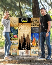 """CAMPING CUSTOM NAME  Quilt 40""""x50"""" - Baby aos-quilt-40x50-lifestyle-front-03"""