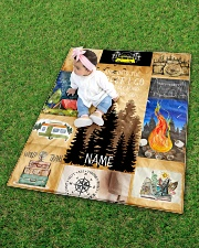 """CAMPING CUSTOM NAME  Quilt 40""""x50"""" - Baby aos-quilt-40x50-lifestyle-front-09"""