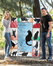 "CAT LOVERS 48 Quilt 40""x50"" - Baby aos-quilt-40x50-lifestyle-front-03"