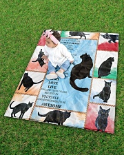 "CAT LOVERS 48 Quilt 40""x50"" - Baby aos-quilt-40x50-lifestyle-front-09"