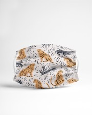 ALL ABOUT LEOPARDS Cloth face mask aos-face-mask-lifestyle-22