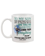 TO MY SON FROM MOM 2 Mug back