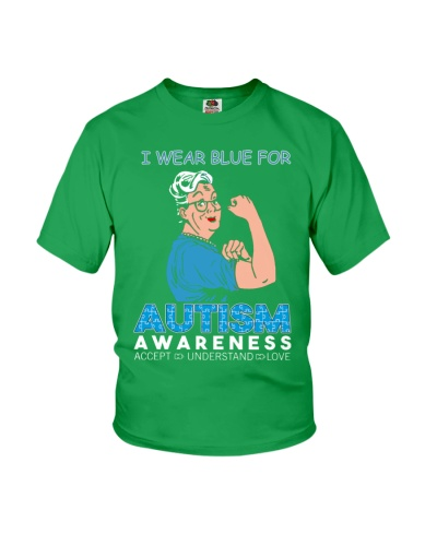 Wear Blue for Autism Awareness
