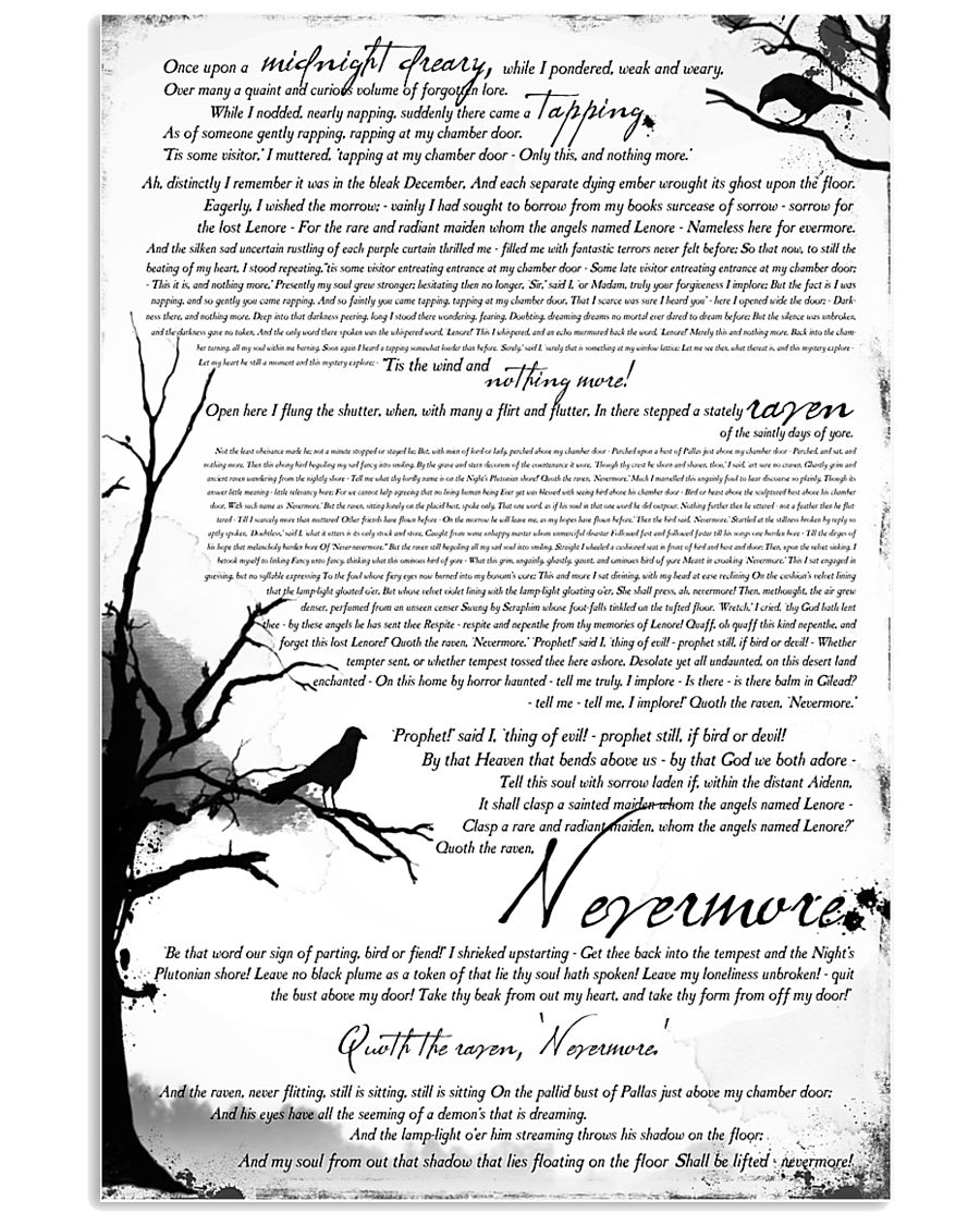 POEM THE RAVEN - LIMITED EDITION 11x17 Poster