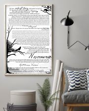 POEM THE RAVEN - LIMITED EDITION 11x17 Poster lifestyle-poster-1