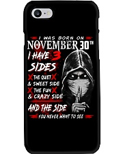 NOVEMBER MAN 3 SIDE 30TH Phone Case thumbnail