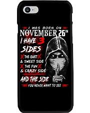 NOVEMBER MAN 3 SIDE 26TH Phone Case thumbnail