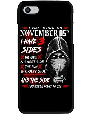 NOVEMBER MAN 3 SIDE 05TH Phone Case thumbnail