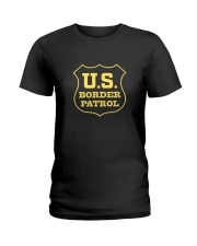 US Border Patrol Supporters Ladies T-Shirt thumbnail