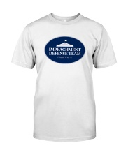 Impeachment Defense Team - I Stand With 45 Shirt - Classic T-Shirt front