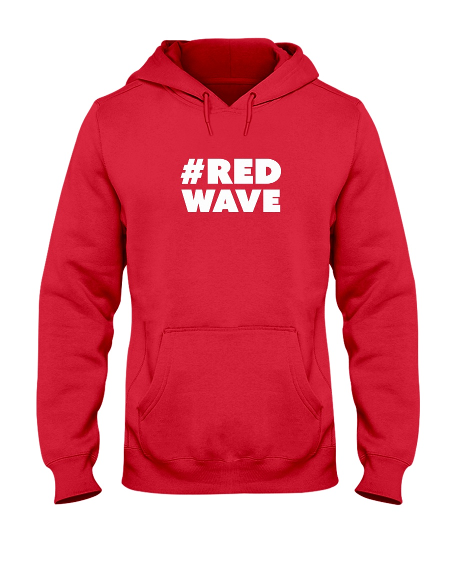 Official Red Wave Pro-Trump Movement  Hooded Sweatshirt