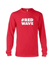 Official Red Wave Pro-Trump Movement  Long Sleeve Tee thumbnail