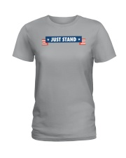 Just Stand Pro National Anthem Shirt Ladies T-Shirt tile