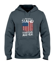 I Proudly Stand For The National Anthem Hooded Sweatshirt thumbnail