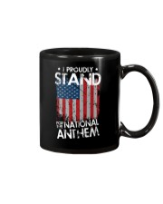 I Proudly Stand For The National Anthem Mug front