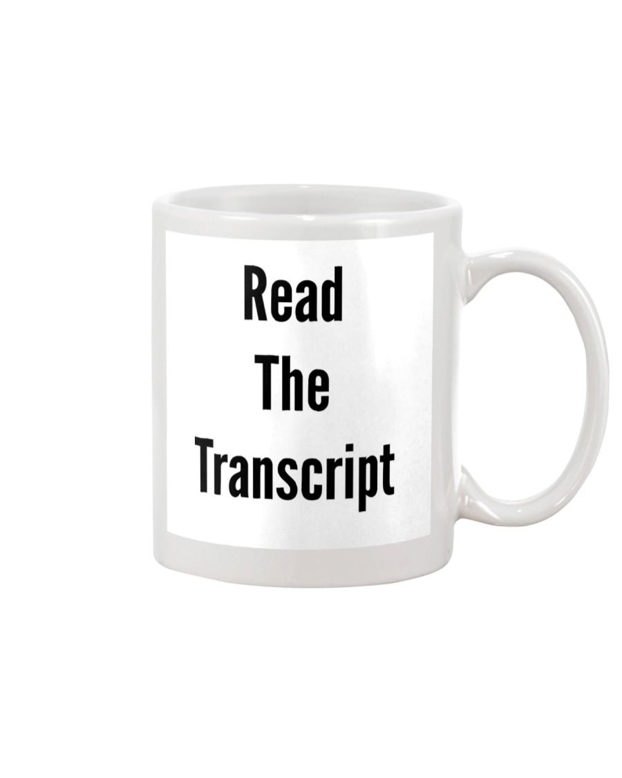 Read The Transcript -- Coffee Mug Trump Mug
