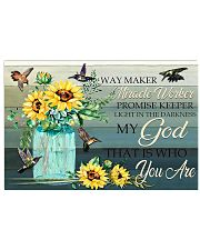 My God 17x11 Poster front