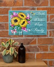 FAITH - LOVE - HOPE - FAMILY 17x11 Poster poster-landscape-17x11-lifestyle-23