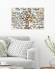 My Dad My Angel 24x16 Poster poster-landscape-24x16-lifestyle-01