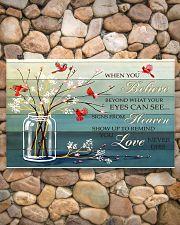 Believe - Heaven - Love 17x11 Poster poster-landscape-17x11-lifestyle-15