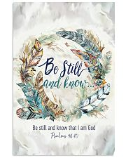 Be Still 11x17 Poster front