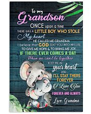 TO MY GRANDSON 11x17 Poster front