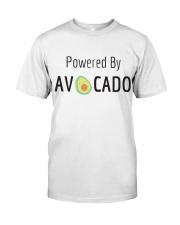 Powered By Avocado Classic T-Shirt thumbnail