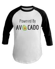 Powered By Avocado Baseball Tee thumbnail