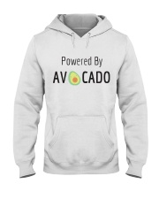 Powered By Avocado Hooded Sweatshirt thumbnail