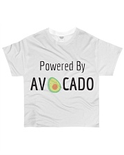 Powered By Avocado All-over T-Shirt thumbnail