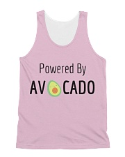 Powered By Avocado All-over Unisex Tank front