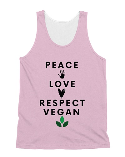 Peace Love Respect Vegan