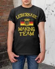 LEBERKASE MAKING TEAM Classic T-Shirt apparel-classic-tshirt-lifestyle-31