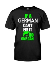 GERMAN FUNNY  Classic T-Shirt front